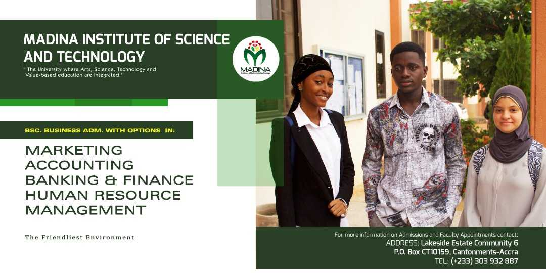 Madina Insititute of Science & Technology